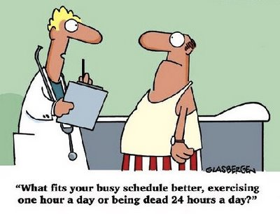 What Fits Your Busy Schedule Better Cartoon