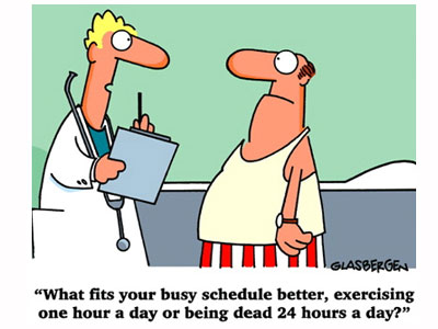 Exercise Motivation - What Fits Your Busy Schedule Better