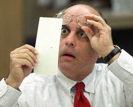 Hanging Chad Florida Recount