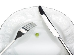 Pea-sized portion