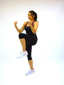 High-knee-pull-downs accelerate your weight-loss