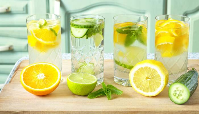 Try a squeeze of lemon, lime or orange in your water